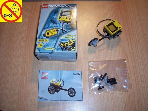 LEGO ® Technic Racers Set 5206 - Speed Computer - Zubehör Tacho für alle Fahrzeuge + BA gebr.