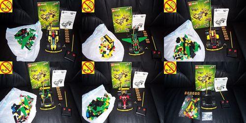 LEGO ® System / Technic / Model Team Set 5600 - RC R/C Racer Funkgesteuertes Auto + BA gebr.