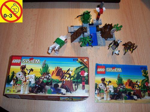 LEGO ® System / Western Set 6718 - Wild West Rain Dance Ridge - Indianer Regentanz + BA + OVP gebr.