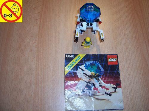LEGO ® System / Space / Weltraum Set 6848 - Futuron Strategic Pursuer - Weltraumfahrzeug + BA gebr.