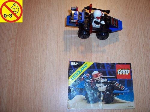 LEGO ® System / Space / Weltraum Set 6831 - Space Police I Message Decoder + BA gebr.