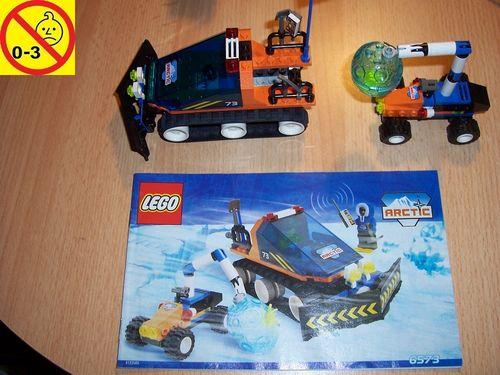 LEGO ® System / Adventurers Arctic Set 6573 - Arctic Expedition + Forschung ohne Figur + BA gebr.