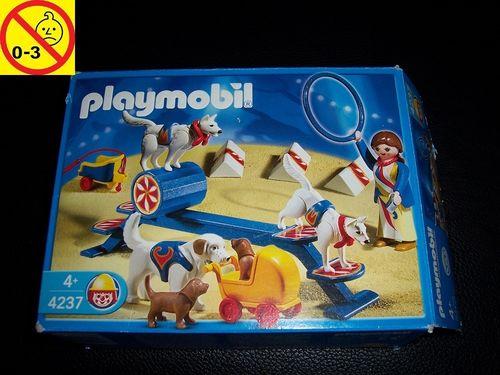 Playmobil Set 4237 Circus / Zirkus - Hundedressur + OVP gebr.