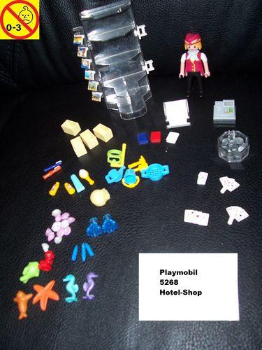 Playmobil Set 5268 Summer Fun / Urlaub Hotel-Shop für Ferienhotel + OVP gebr.