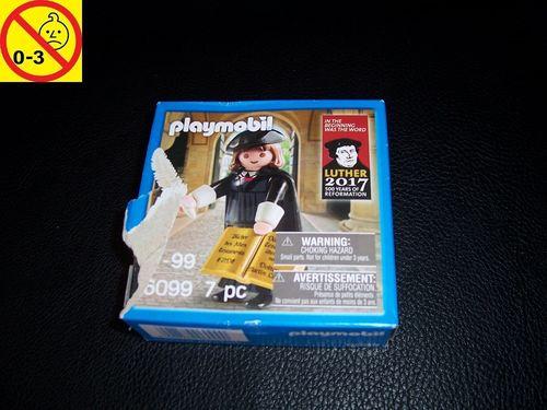"""Playmobil Set 6099 Berühmtheiten Martin Luther 500 Jahre Reformation 1517-2017 mit """"Ende"""" NEU & OVP"""