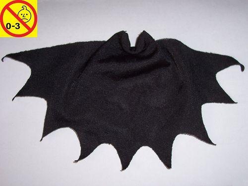 Playmobil Einzelteile Figur Männchen schwarzer Stoff Umhang für Dracula Vampir gebr.