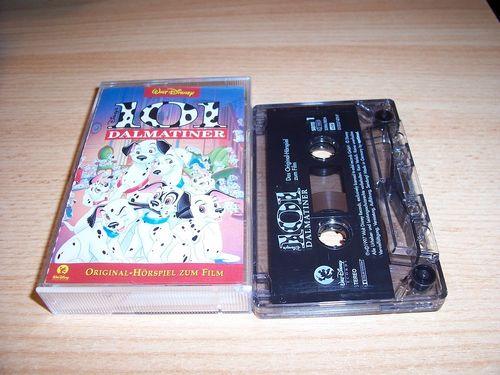 Walt Disney Hörspiel MC zum Film 101 Dalmatiner  1997 Walt Disney Records edel rot gebr.