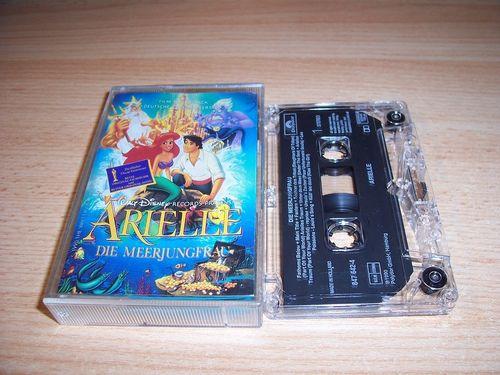 Walt Disney Hörspiel MC zum Film Arielle - Die Meerjungfrau OST Original Soundtrack Polydor gebr.