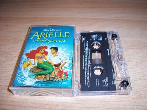 Walt Disney Hörspiel MC zum Film Arielle - Die Meerjungfrau OST Original Soundtrack Polydor CE gebr.