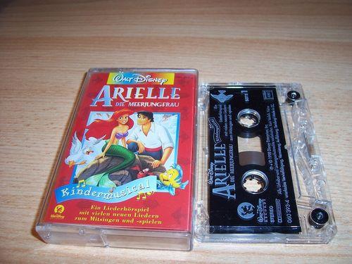 Walt Disney Hörspiel MC zum Film Arielle - Die Meerjungfrau  Kindermusical Walt Disney Records gebr.