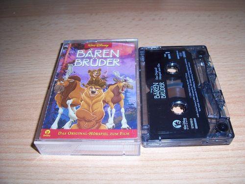 Walt Disney Hörspiel MC zum Film Bärenbrüder 1  2004 Walt Disney Records rot gebr.