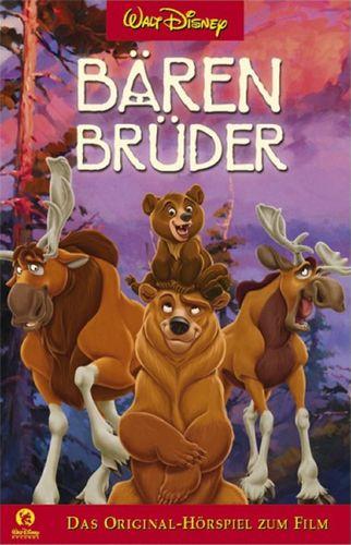 Walt Disney Hörspiel MC zum Film Bärenbrüder 1  2004 Walt Disney Records rot NEU & OVP