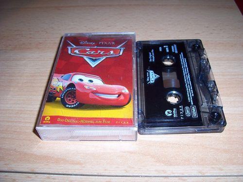 Walt Disney Hörspiel MC zum Film Cars 1 von Pixar  2006 Walt Disney Records rot gebr.