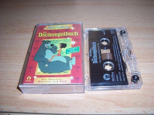 Walt Disney Hörspiel MC zum Film Das Dschungelbuch 1  1997 Walt Disney Records rot gebr.
