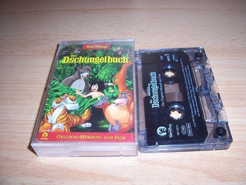 Walt Disney Hörspiel MC zum Film Das Dschungelbuch 1  2001 Walt Disney Records rot gebr.