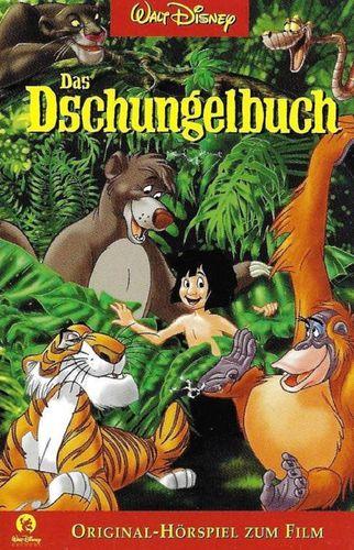 Walt Disney Hörspiel MC zum Film Das Dschungelbuch 1  2001 Walt Disney Records rot NEU & OVP