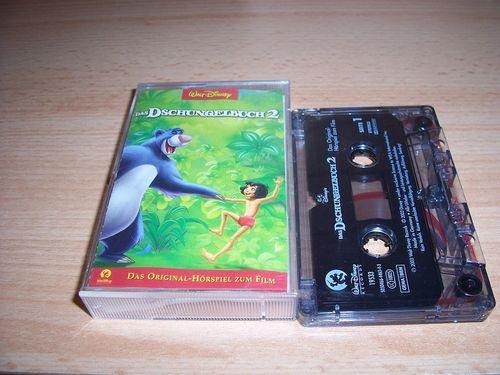 Walt Disney Hörspiel MC zum Film Das Dschungelbuch 2  2003 Walt Disney Records rot gebr.