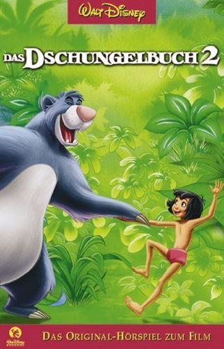Walt Disney Hörspiel MC zum Film Das Dschungelbuch 2  2003 Walt Disney Records rot NEU & OVP