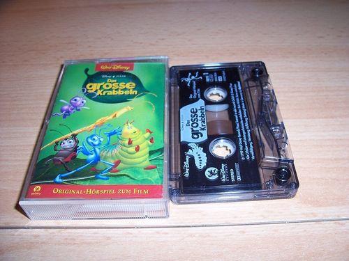 Walt Disney Hörspiel MC zum Film Das grosse Krabbeln  1997 Walt Disney Records edel rot gebr.