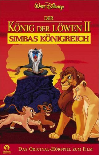 Walt Disney Hörspiel MC zum Film Der König der Löwen 2 Simbas Königreich 1999 WD Records rot NEU OVP