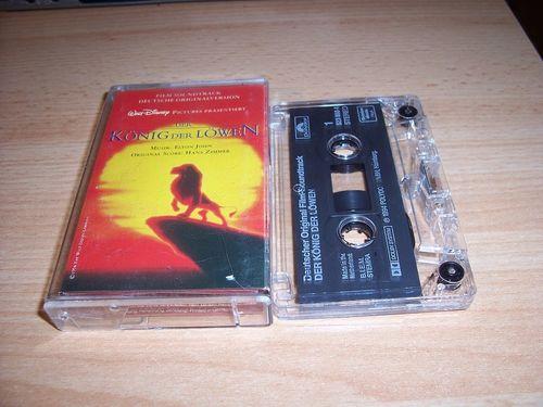 Walt Disney Hörspiel MC zum Film Der König der Löwen 1 OST Original Soundtrack dt. Polydor gebr.