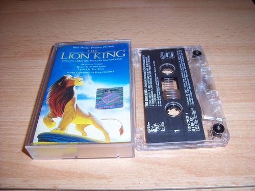 Walt Disney Hörspiel MC zum Film Der König der Löwen 1 OST Original Soundtrack en. Polydor gebr.
