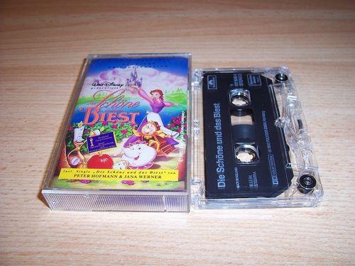 Walt Disney Hörspiel MC zum Film Die Schöne und das Biest OST Original Soundtrack Polydor gebr.