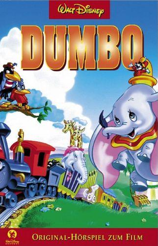 Walt Disney Hörspiel MC zum Film Dumbo  2002 Walt Disney Records rot NEU & OVP