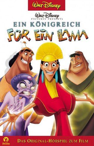Walt Disney Hörspiel MC zum Film Ein Königreuch für ein Lama 2002 Walt Disney Records rot NEU & OVP