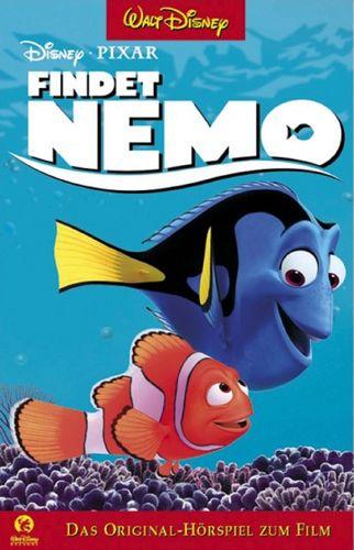 Walt Disney Hörspiel MC zum Film Findet Nemo von Pixar  2003 Walt Disney Records rot NEU & OVP
