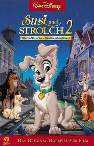 Walt Disney Hörspiel MC zum Film Susi und Strolch 2 Kleine Strolche 2001 Records edel rot NEU & OVP