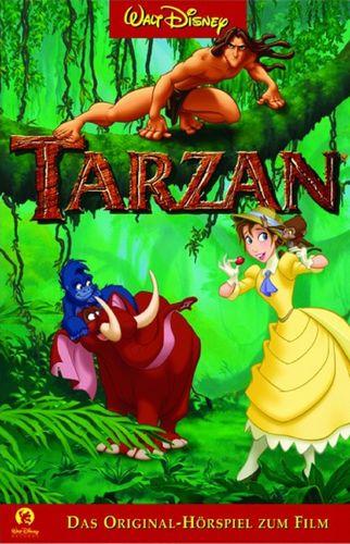 Walt Disney Hörspiel MC zum Film Tarzan  1999 Walt Disney Records edel rot NEU & OVP