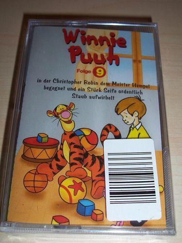 Walt Disney Hörspiel MC zum Film Winnie Puuh Serie Folge 9 2004 Walt Disney Records Rückenbild NEU