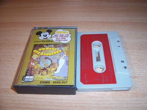 Walt Disney Micky Sprechblase Hörspiel MC 007 7 Die Hexe und der Zauberer 1978 Disneyland gebr.