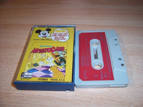 Walt Disney Micky Sprechblase Hörspiel MC 010 10 Aristocats 1978 Disneyland gebr.