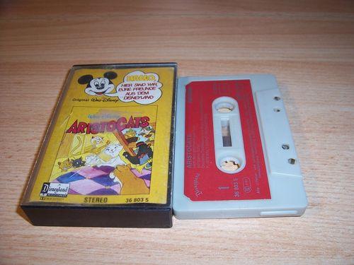 Walt Disney Micky Sprechblase Hörspiel MC 010 10 Aristocats 1978 Disneyland CLUB EDITION gebr.