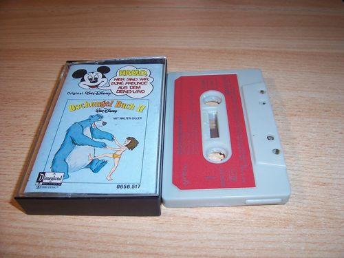 Walt Disney Micky Sprechblase Hörspiel MC 017 17 Dschungelbuch Folge 2 1979 Disneyland gebr.