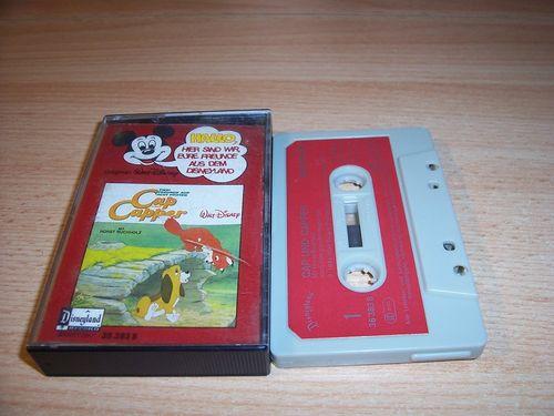 Walt Disney Micky Sprechblase Hörspiel MC 019 19 Cap und Capper 1979 Disneyland CLUB EDITION gebr.