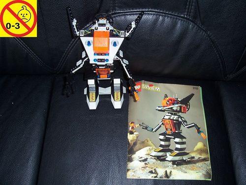 LEGO ® System / Space / Weltraum Set 2153 - Roboforce - Robo Stalker Blockblaster Roboter + BA gebr.