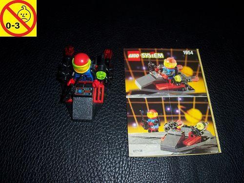 LEGO ® System / Space / Weltraum Set 1714 / 1954 - Surveillance Scooter - Patroliengleiter BA gebr.