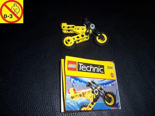 LEGO ® Technic Set 2544 - Microbike Promotional Shell 10 Motorad + BA gebr.