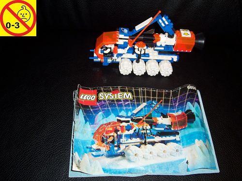 LEGO ® System / Space / Weltraum Set 6898 - Ice Planet Ice-Sat V Raketen-Transporter + BA gebr.