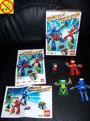 LEGO ® Games / Spiele Set 3835 - Robo Champ 100% komplett + BA + OVP gebr.