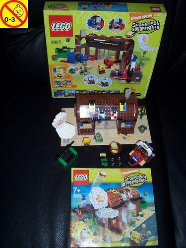 LEGO ® System / Studios / SpongeBob Squarepants Set 3825 - The Krusty Krab + BA + OVP gebr.