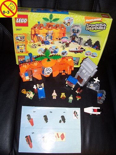 LEGO ® System / Studios / SpongeBob Squarepants Set 3827 - Adventures in Bikini Bottom  BA OVP gebr.