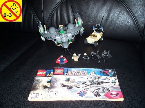 LEGO ® System / Studios / Super Heroes Set 76003 - Superman Battle of Smallville + BA gebr.