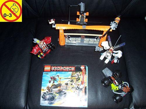 LEGO ® System / Exo-Force Set 7705 - Gate Assault / Torangriff + BA gebr.