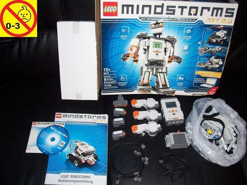 LEGO ® Technic Set 8547 - Mindstorms NXT 2.0 - Invention Kit 100% komplett + CD + BA + OVP gebr.