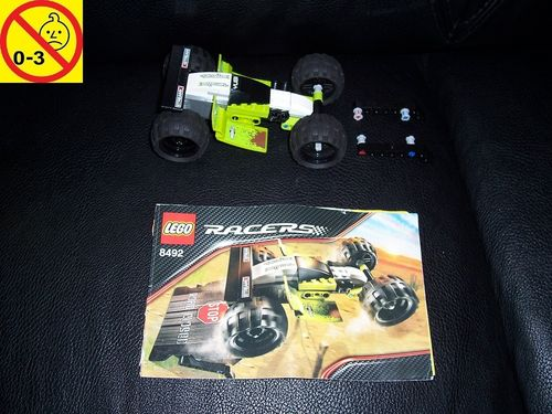 LEGO ® Technic Racers Set 8492 - Mud Hopper - Pull-Back-Motor Rennwagen + BA gebr.