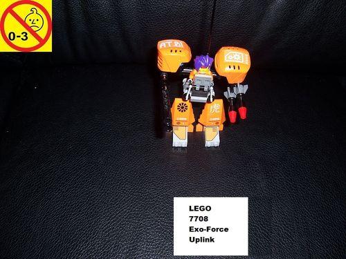 LEGO ® System / Exo-Force Set 7708 - Uplink Roboter gebr.